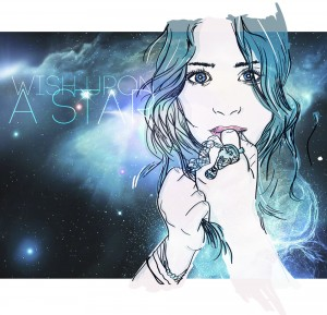 A Galaxy Print Portrait of Olsen Girl